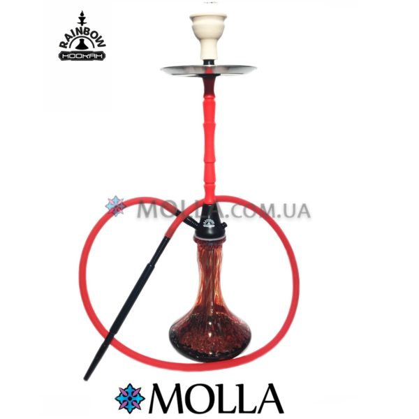 Кальян RAINBOW HOOKAH 2.0 Red/Black ( Красный)