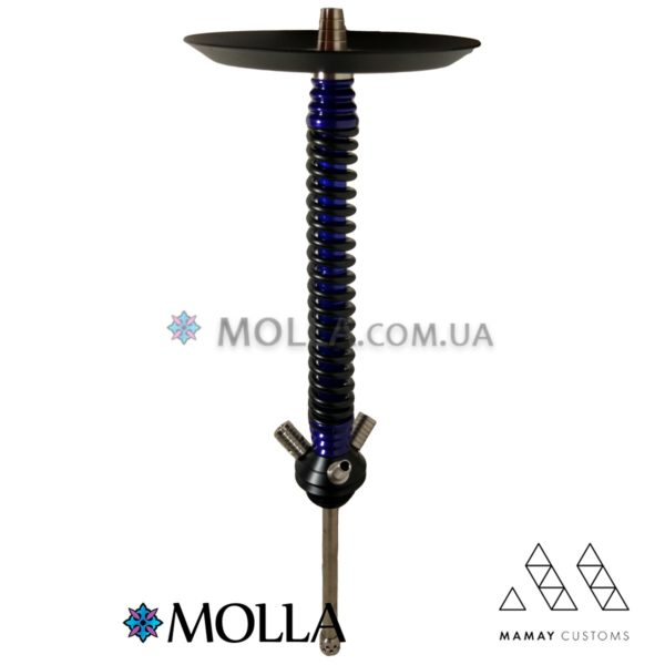 Кальян Mamay Custom ( Мамай ) v3 Coilovers ( Black/Blue )