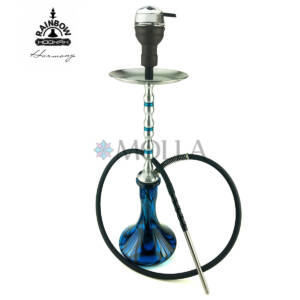 Кальян RAINBOW HOOKAH v3.0 Harmony Silver ( Колба Craft Double Color )