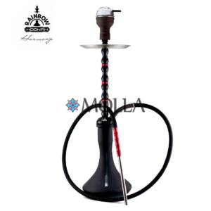 Кальян RAINBOW HOOKAH v3.0 Harmony Black/Red ( Колба Craft Matt )