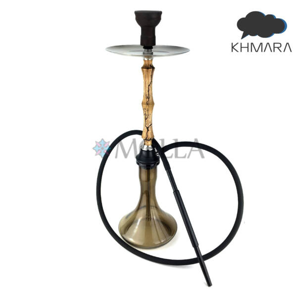 Кальян Khmara ( Хмара ) Sintesi I Wood Light Current Desing ( Колба Craft ) - Коричневый