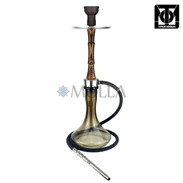 Кальян Totem Hookah IDOL Old Wood Craft Grey (полный комплект)